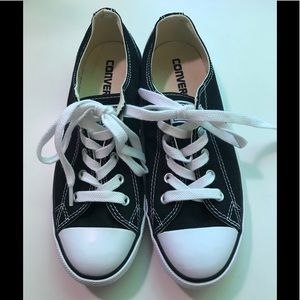 Converse All-Star black sneakers
